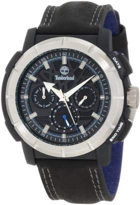 Timberland Men's 13325JPBS_02A Edgewood Analog Multifunction 3 Hands Day Date Dual Time Watch