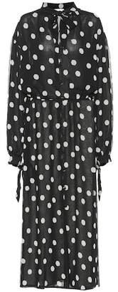 Nanushka Zahara chiffon dress