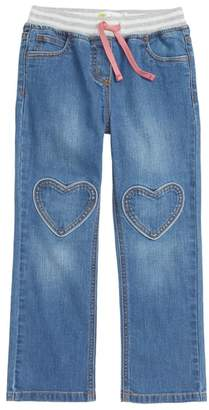 Boden Mini Heart Patch Jeans