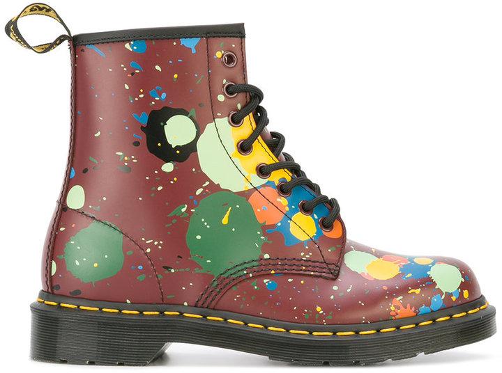 Dr. MartensDr. Martens floral print boots