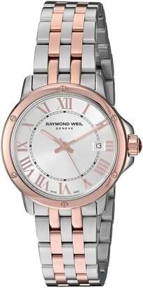 Raymond Weil Women's 5391-SB5-00658 Tango Analog Display Swiss Quartz Two Tone Watch