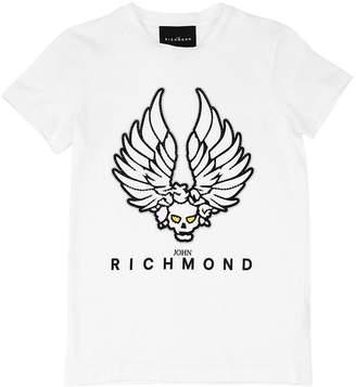 John Richmond コットンジャージーTシャツ