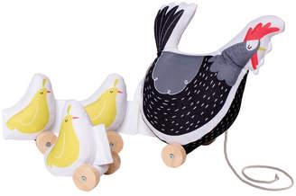 Manhattan Toy Farmers Market Chicken Pull Toy