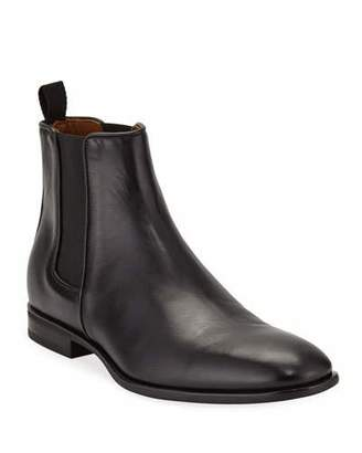 Aquatalia Men's Adrian Leather Dress Chelsea Boots