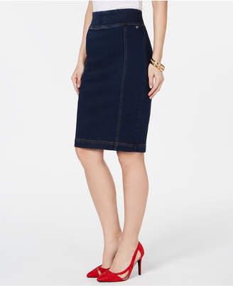 Thalia Sodi Denim Pencil Skirt