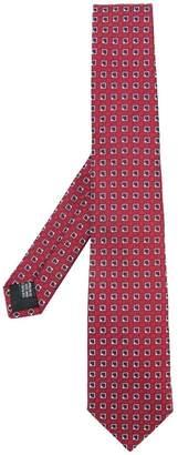 Cerruti geometric print tie