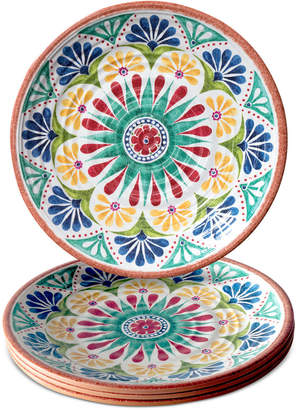 TarHong Rio Medallion Dinner Plate, Set of 4