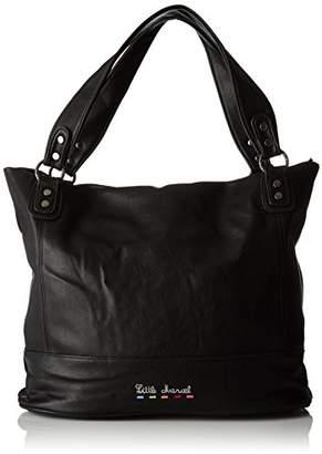 Little Marcel Id03, Women's Shoulder Bag, Noir (), 17x31x38 cm (W x H L)