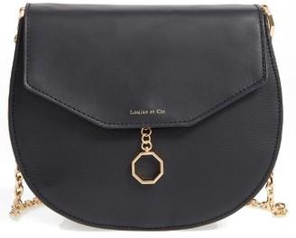 Louise Et Cie Jael Leather Crossbody Bag - Black $278 thestylecure.com