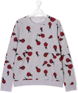 Stella McCartney TEEN Betty lady bug sweatshirt