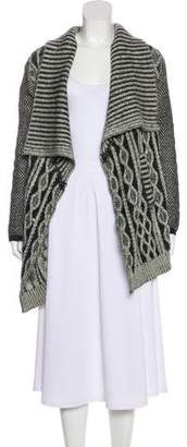 Yigal Azrouel Wool Knit Cardigan