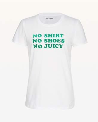 Juicy Couture No Shirt No Shoes No Juicy Tee