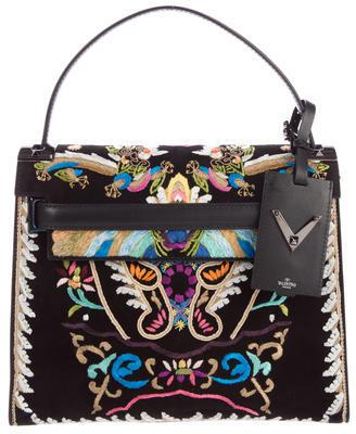 ValentinoValentino 2016 Embroidered Dragon My Rockstud Bag