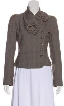 Sonia Rykiel Wool Check Jacket