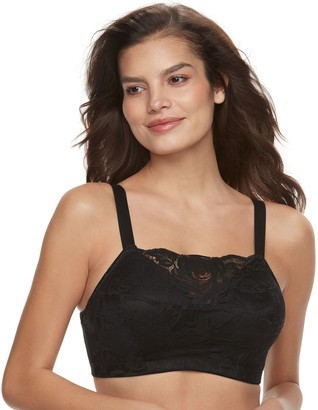 Lunaire Women's Wirefree Cami Lace Bra 4024H