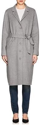 M.patmos Women's Leibovitz Wool-Cashmere Coat - Grey Heather Size L
