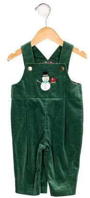 Florence Eiseman Boys' Embroidered Overalls w/ Tags