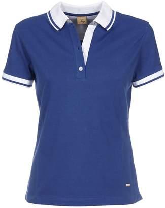 Fay Contrast Trim Polo Shirt