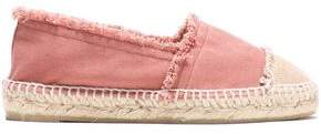 Castaner Frayed Canvas Espadrilles