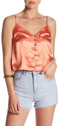 Mimi Chica Satin Cami $34 thestylecure.com