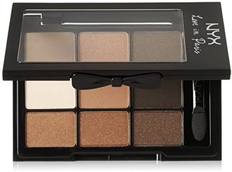 NYX Cosmetics Love In Paris Eye Shadow Palette Parisian Chic, 0.028 Ounce $10 thestylecure.com