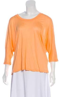 Halston Short Sleeve Casual Top