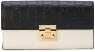 Gucci Padlock Wallet With Detachable Chain