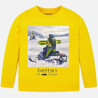Mayoral Better On Snow Long Sleeve Shirt