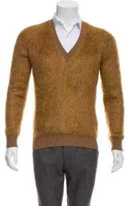 Burberry Wool-Blend V-Neck Sweater