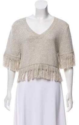 Creatures of Comfort Knit Short Sleeve Top