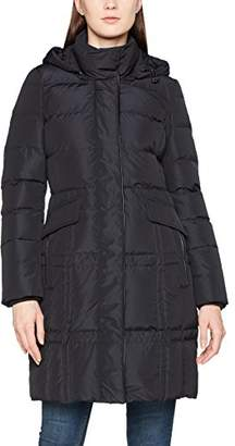 Geox Women's WOMAN DOWN JACKET Down Long Sleeve Coat,(Manufacturer Size: 46)