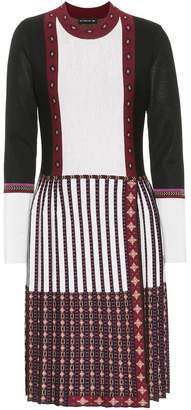 Etro Knitted wool-blend dress