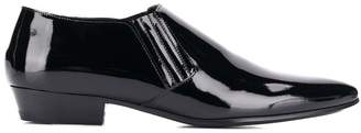 Saint Laurent patent ankle boots