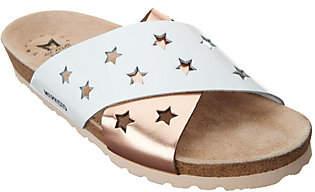 Mephisto Star Leather Cross-Band Sandals- Nanou