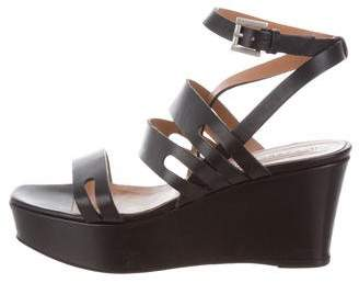 Fratelli Rossetti Leather Platform Sandals
