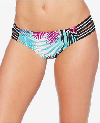 Jag Tropical-Print Strappy Bikini Briefs