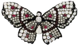 Ermanno Scervino butterfly brooch