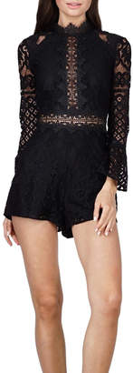 Adelyn Rae Lace Romper