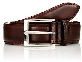 Harris Men's Burnished Leather Belt-Brown