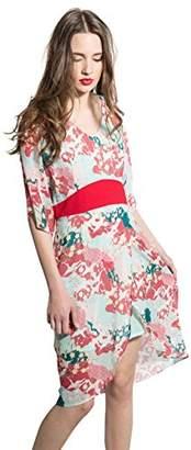 Smash Wear Smash! Women's Telma Ceremonial Dress, (Red 24), Large