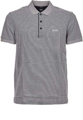 HUGO BOSS Textured Polo Shirt