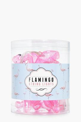 boohoo LED Flamingo Fairy Lights $22 thestylecure.com