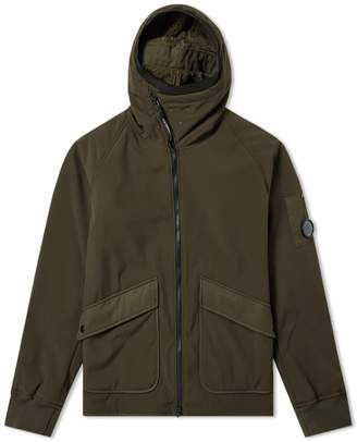 C.P. Company Arm Lens Fleece Lined Hooded Jacket