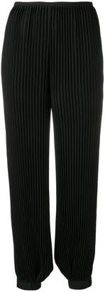 Krizia pleated design trousers