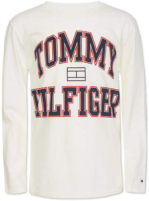 Tommy Hilfiger Little Boys Varsity Logo Shirt