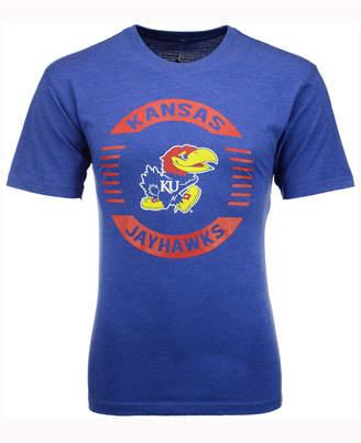 Colosseum Men's Kansas Jayhawks Circle Logo T-Shirt