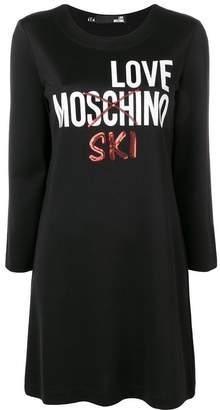 Love Moschino Love Mo'ski'no sweater dress