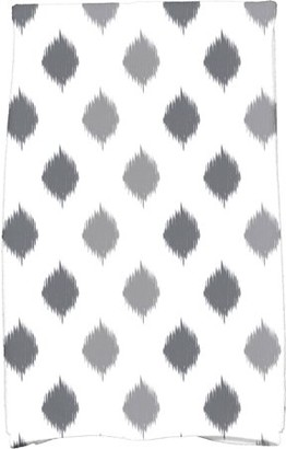 "E By Design Simply Daisy 16"" x 25"" Ikat Dot Stripes Holiday Geometric Print Kitchen Towel"