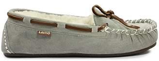 Lamo Britain Moc ll Genuine Leather Lace Black Slip-On