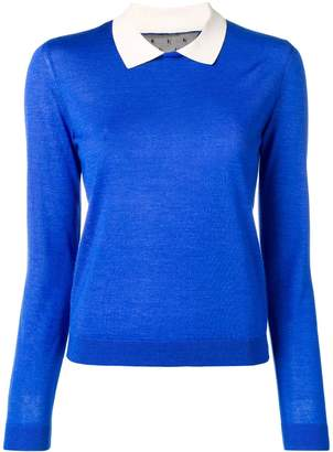 RED Valentino Peter Pan collar jumper